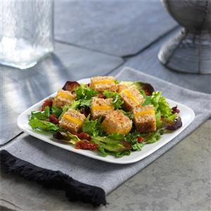 Grilled Cheese Crouton Salad
